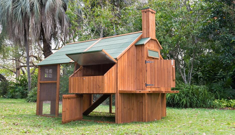 The Mansion Chicken Coop Chimney
