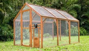 outdoor mansion chicken run for free range hens