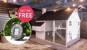 mansion chicken coop ultimate in luxury real estate bonus auto door