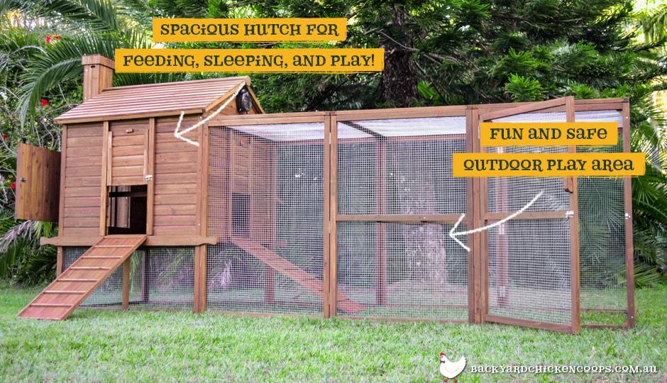 Piggy Paradise guinea pig enclosure