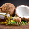 Coconut oil and whole coconuts