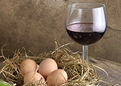 combining wine and eggs is unusual, but can add some real spice to your favourite dish