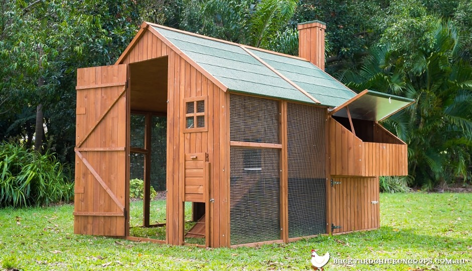 The Mansion Backyard Chicken Coop