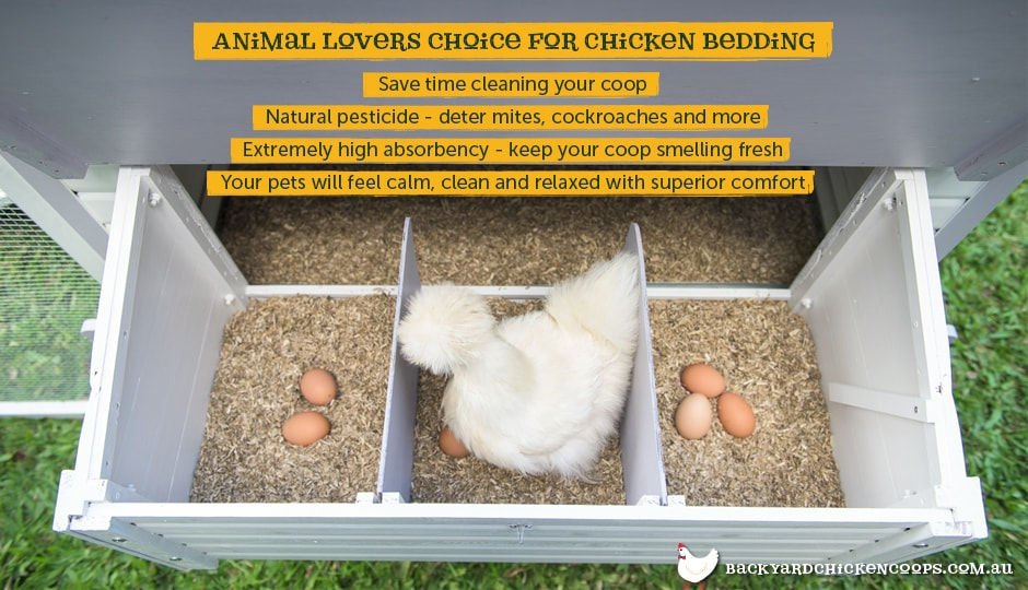 Hemp Bedding for backyard chicken coops
