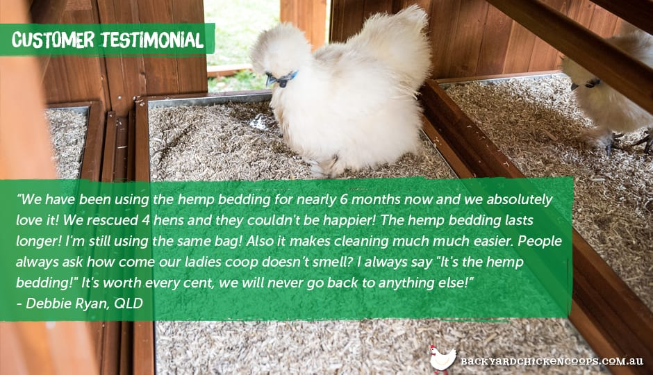Hemp Bedding customer testimonial