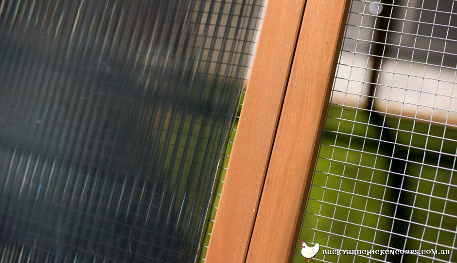 backyard-chicken-coop-insulated-roofing-close-up