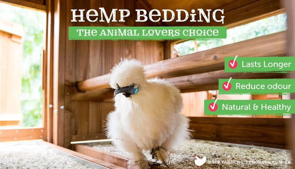 hemp bedding benefits for chickens