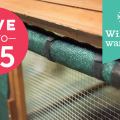 outdoor chicken coop shade cloth thumbnail