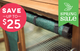 chicken coop shade mesh spring sale
