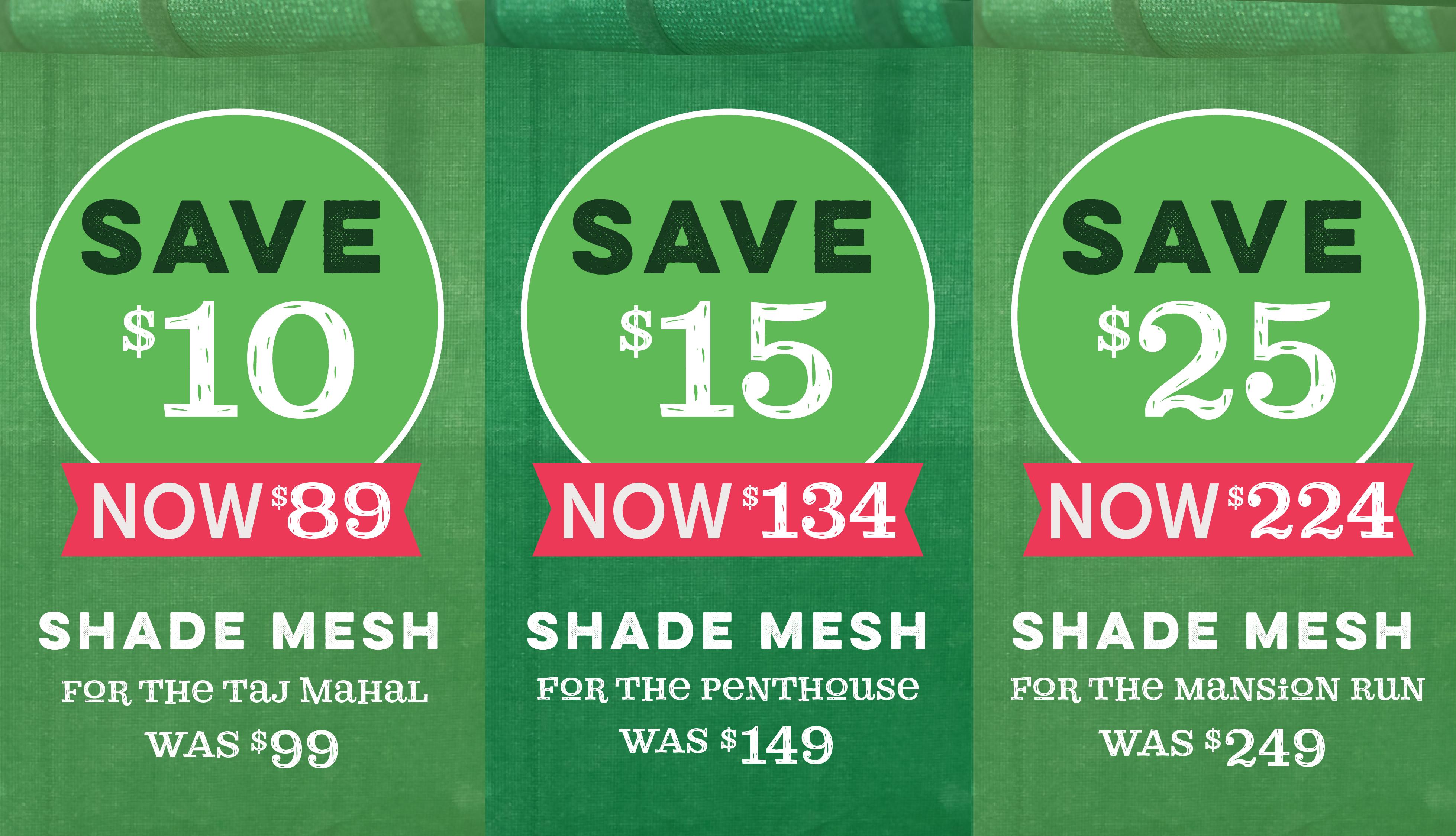chicken coop shade mesh savings sale