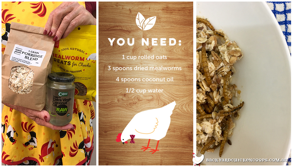 Chooky S Anzac Crumble A Protein Treat For Your Chickens