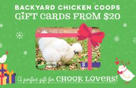 Backyard Chicken Coops Gift Card
