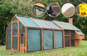summer shades mansion chicken coop package sale
