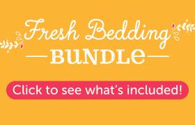 fresh bedding bundle