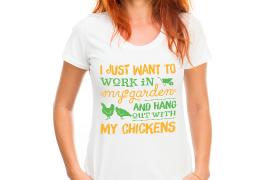 garden chickens shirts thumbnail