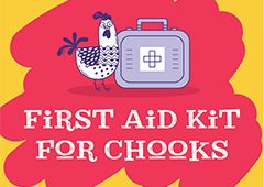 first aid kit for backyard chickens thumbnail