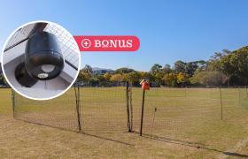 electric poultry fencing plus bonus sensor light thumbnail