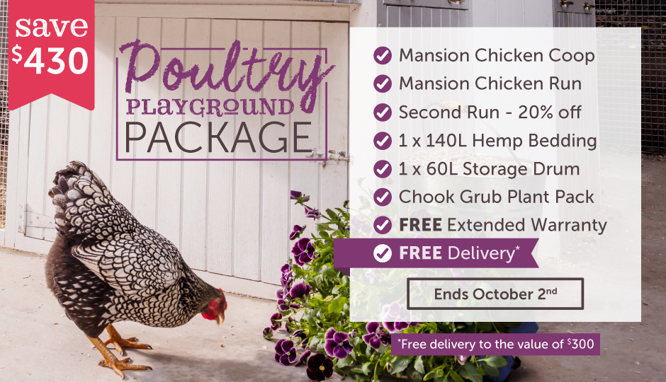 poultry playground spring package
